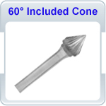 60 Degree Included Cone