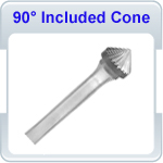 90 Degree Included Cone